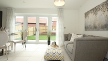 The Edendale - Kitchen / Living Area