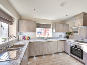 New homes with contemporary Keller kitchens