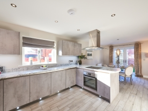 Spacious kitchen / diner at HighFields, Clowne