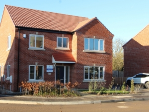 Contemporary new homes in Clowne