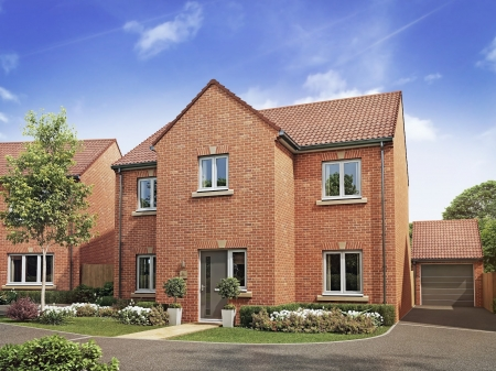 New homes at HighFields in Clowne
